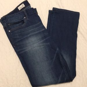 Gap Real Straight Jeans, Size 30